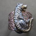 Sale Animal Cuff Bracelet - One of a kind