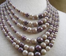 Sale Vintage 1950s Mad Men Pearl Necklace